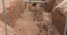 21.06.2018 – 18 Meter Rohrleitung sind verlegt