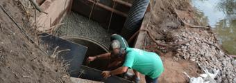 02.08.2018 – Das Einleit- und Entnahmebauwerk (Teil 1)