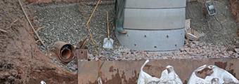 09.08.2018 – Das Entnahmebauwerk wächst weiter